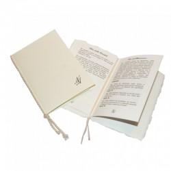 Libretto Messa Rettangolare con Coordoncino
