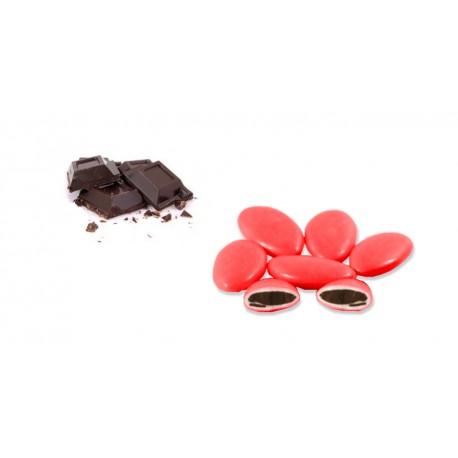 Confetti Cioccolato Fondente Rosso