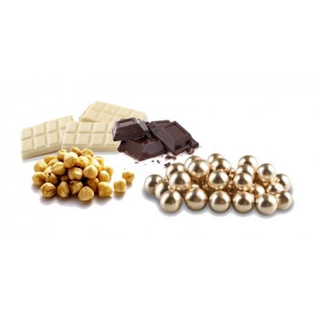 Confetti Nocciola Cioccolato Dorata Lucida