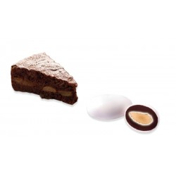 Confetti alla Ricotta e Pera al Cioccolato Fondente